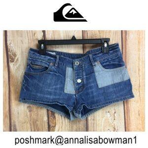 💸Quiksilver denim shorts size 29